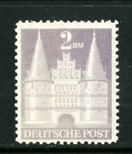 Germany-Stamps-660A-XF-OG-NH-Scott-Value-375-00