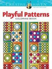 creative haven coloring bks creative haven playful patterns coloring book - Creative Haven Coloring Books