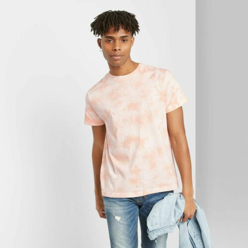 Men/'s Tie~Dye Regular Fit Short Sleeve T~Shirt Original Use Sugar Spice Size MED