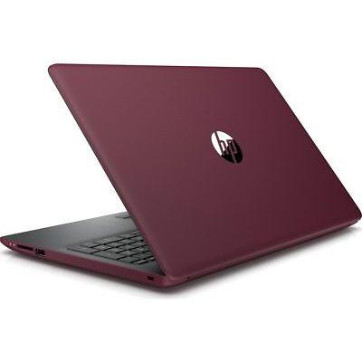 "HP 15-da0599sa 15.6"" AMD A6 Laptop - 1 TB HDD, Burgandy"