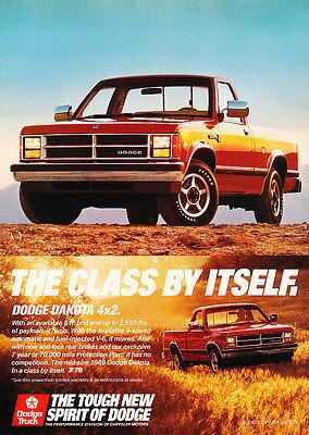 1987 Dodge Ram 50 Truck Vintage Advertisement Ad P84
