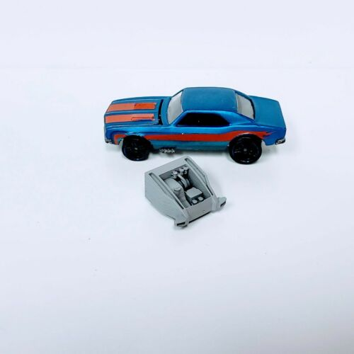 PORSCHE FRONT END  1:64 scale engine 3D printed resin Hot Wheels//Matchbox