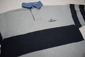 Gant Polo Longsleeve T-Shirt USA Sport Rugby Sweater Casual Business Spellout S
