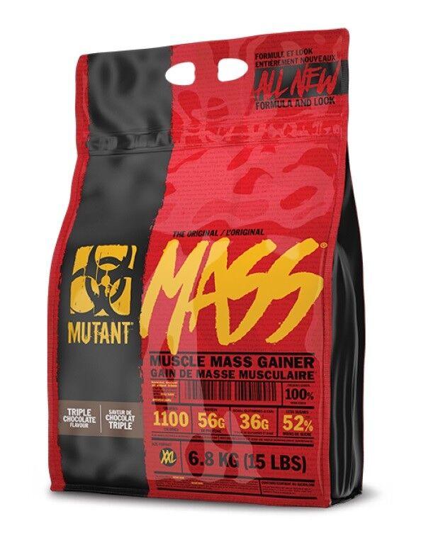 PVL Mutant Weight Mass 6.8kg Muscle Mass Gainer Weight Mutant Gain Protein Powder Shake 52da9a