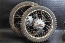 GILERA 50 5V Trial coppia ruote mozzi hubs wheel