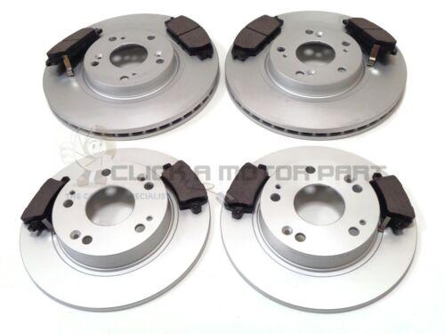 Pour Honda Civic 2.0i V-Tec Type-R GT FN2 06-11 Avant /& Arrière Disques De Frein Et Plaquettes