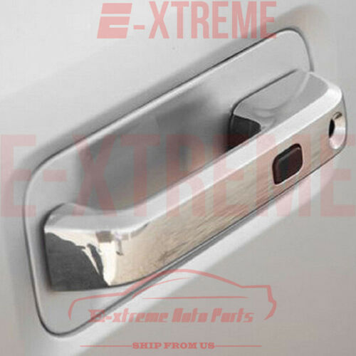 FOR FORD F-150 2015 CHROME 4 DOORS HANDLES COVERS W//OUT PSH KH W//SMART KH