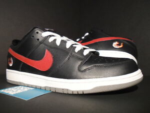 premium selection acfff a287a Details about 2012 NIKE DUNK LOW PREMIUM SB SHRIMP BLACK RED WHITE DUST  313170-060 NEW 12