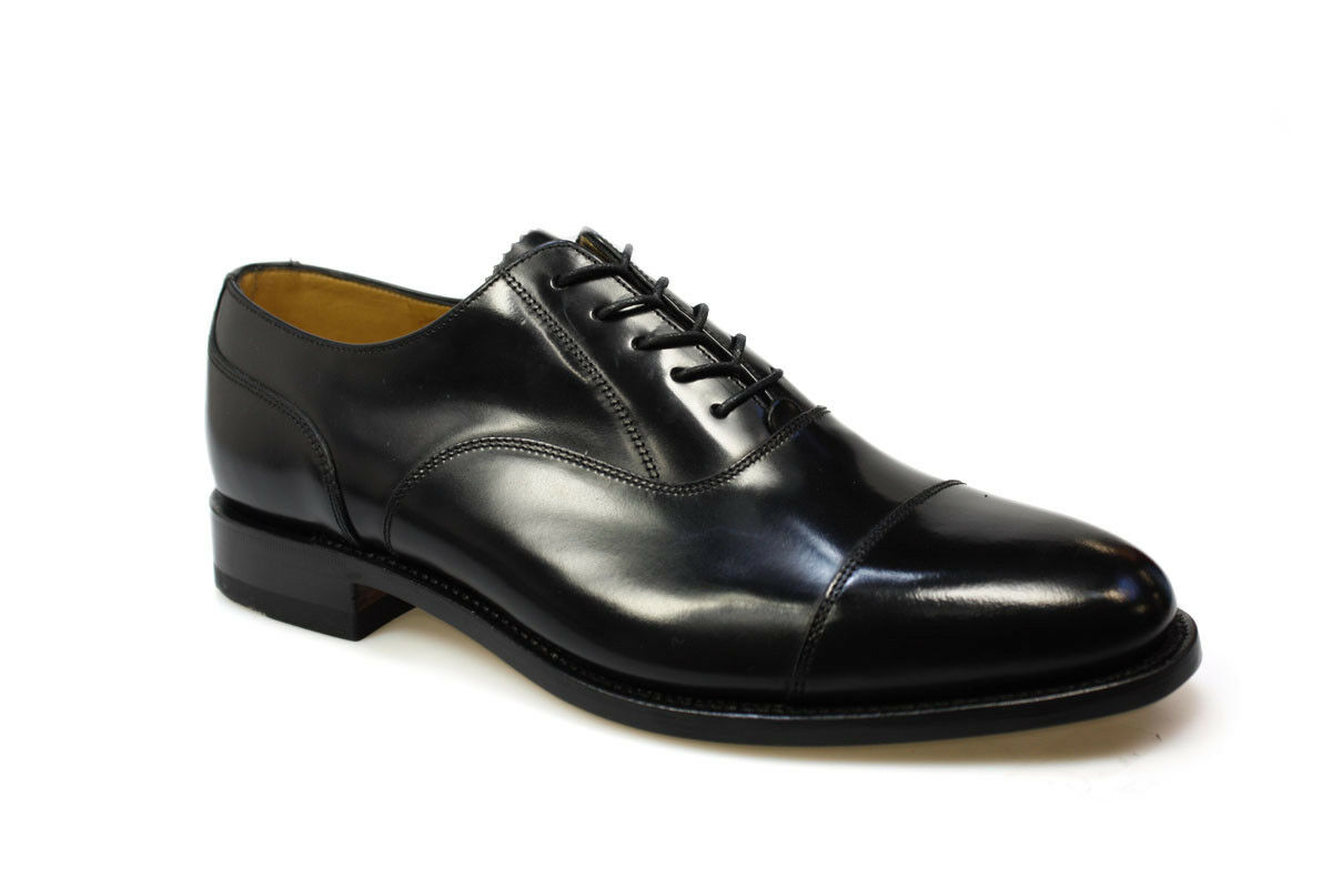 48ae9a8e Mens Loake Smart Polished Leather Shoes 200b Black 9.5 UK G for sale ...