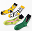 Men-Women-Cotton-Sock-Animal-Shark-Zebra-Corn-Sea-Food-Novelty-Funny-Dress-Socks thumbnail 3