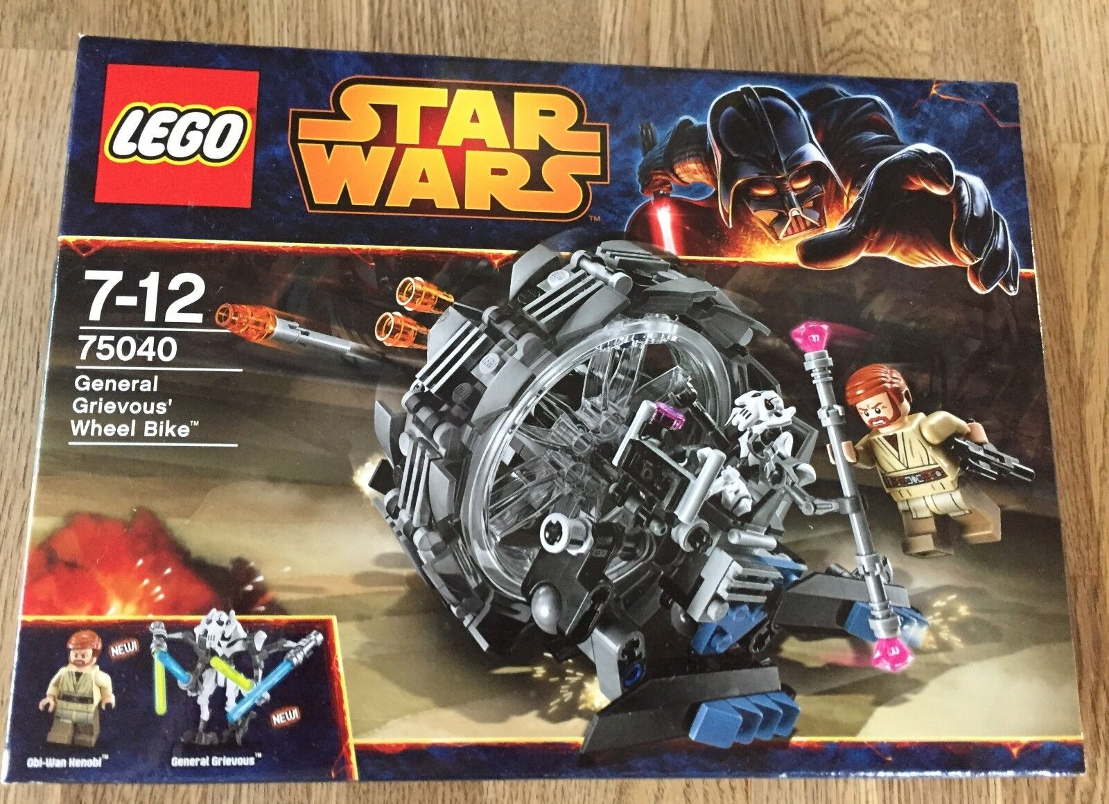 LEGO STAR WARS 75040 - General Grievous Wheel Bike NEU/OVP Sealed Obi Wan Kenobi