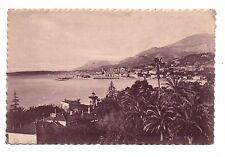 06 - cpa - MENTON - Baie de Garavan et la vieille ville  (C2032)