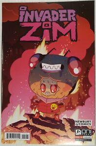 INVADER-ZIM-1-Newbury-Comics-variant-cover-Jhonen-Vasquez