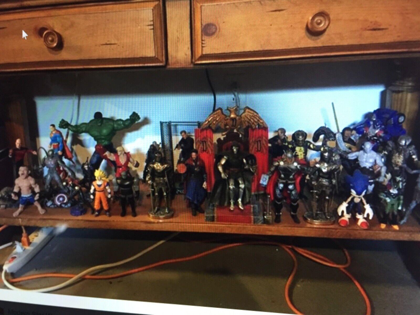 Huge Action Figure & Statue Collectibles Lot Marvel DC Joker Game of Thrones
