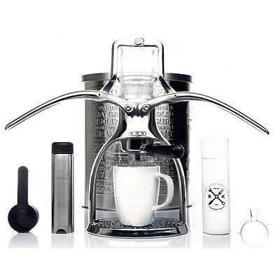 NEW Presso V2 ROK Coffee Maker Espresso Machine Portable No Electricity Eco