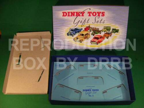 Gift Set 3 Reproduction Box by DRRB Passenger Cars Dinky #199