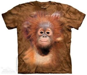 12582074 Details about Orangutan Hang Kids T-Shirt by The Mountain. Baby Monkey  Sizes S-XL Youth NEW