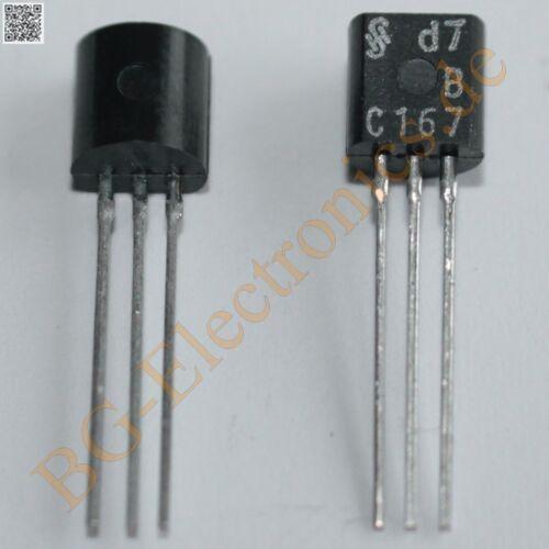 5 x BC167B 100mA 300mW 45V Siemens Q62702-C75 TO-92 5pcs