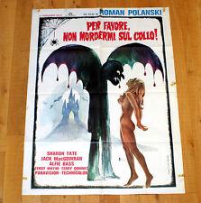 PER FAVORE NON MORDERMI SUL COLLO manifesto poste affiche Roman Polanski Vampire