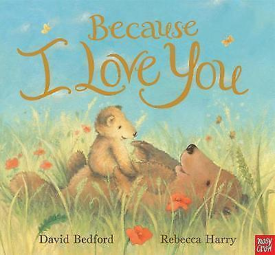 1 of 1 - Harry, Rebecca, Bedford, David, Because I Love You, Very Good Book