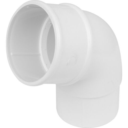 Round 112mm /& 68mm White Guttering /& Downpipe Fittings Choice