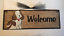 SPOILED ROTTEN DOG LIVES HERE pet dog animal dogs home wall wood decor sign