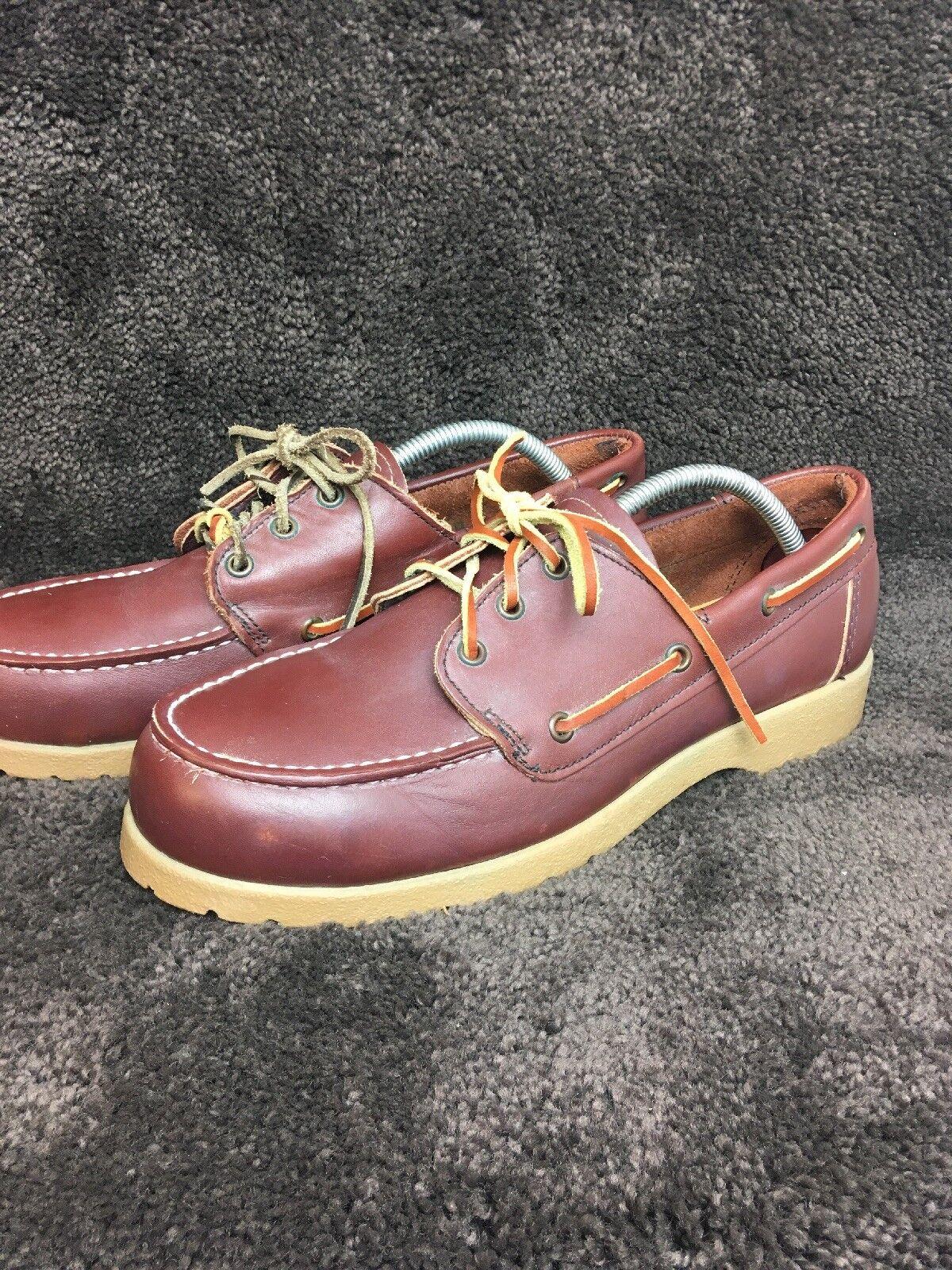 Zapatos de ala Roja, dedos de acero, vino rojo, alas rojas, suelas de zapatos, talla 9 d 301.
