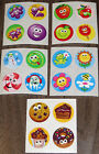 Lot of 20 Vintage Sandylion Scratch and Sniff Scented Stickers Smelly Rare