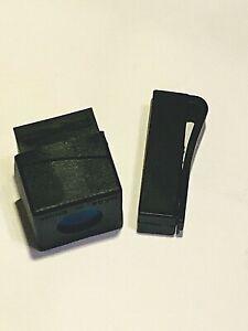 Holds Master Chalk /& More Magnetic Leather Chalk Holder w// Belt Clip