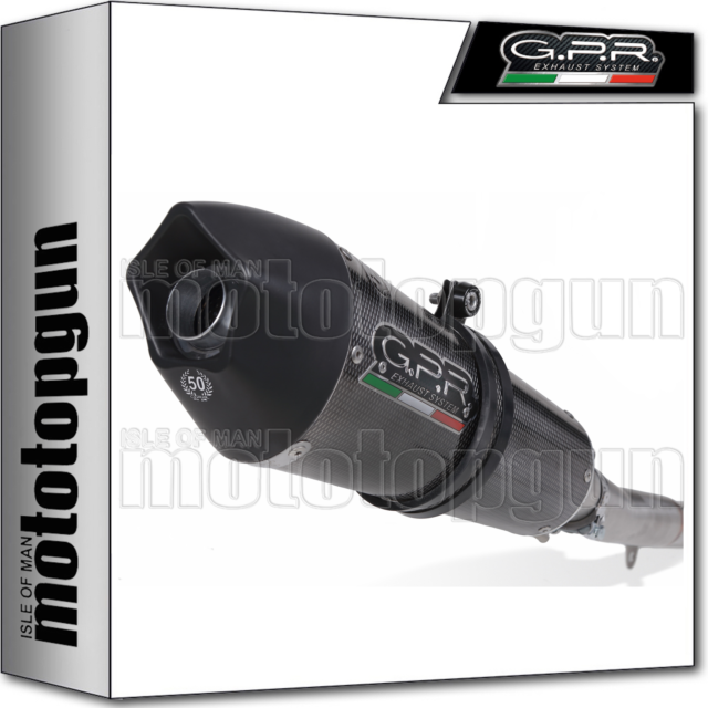 GPR FULL SYSTEM EXHAUST CAT GPE ANNIVERSARY POPPY YAMAHA TMAX T-MAX 530 2012 12
