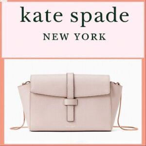 NWT-Kate-Spade-Riverside-Street-Emmie-Crossbody-Bag-Warm-Beige-WKRU6083-348