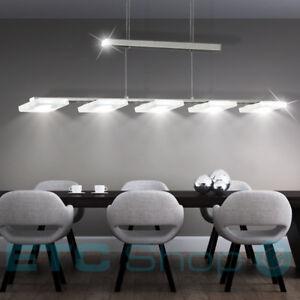 LED-PLAFOND-LUMINAIRE-SUSPENDU-VARIATEUR-Salon-Lampe-pendant-hohen-verstellbar