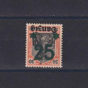 DANZIG GERMANY 1920, Mi#18K, signed, CV€300, MNH