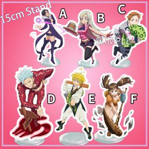 Seven Deadly Sins anime figure strap Meliodas Ban Diane Hawk Nanatsu no Taizai