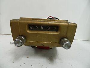 Vintage 1955 Silvertone Model 6266 Car Radio