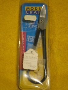 MODEL-CRAFT-PPL1208-CURVED-JAWS-JEWELLERS-TIN-SNIPS-NEW-HOBBY-MODEL-JEWELLERY