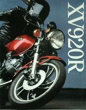 Yamaha XV 920R UK Sales Brochure