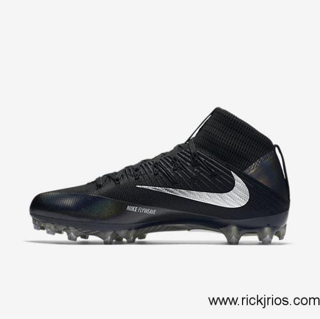 online retailer 6995f 55510 Nike Untouchable 2 Cleats Size 13 Mens Football Carbon Vapor Black Silver  824470 for sale online   eBay