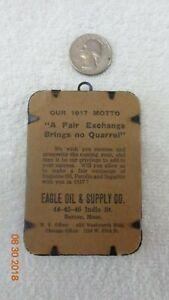 Automotive-1917-Advertising-Eagle-Oil-Supply-Boston-Massachusetts-Metal-frame
