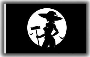Halloween Black Outdoor Living Garden Décor Flag 90x150cm 3x5ft Best Banner Ebay