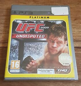 UFC-UNDISPUTED-2009-Platinum-Jeu-Sur-Sony-PS3-Playstation-3-Neuf-Sous-Blister-VF