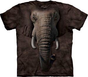 Adulto Elephant Unisex The Mountain Face T Shirt Zoo wqIxZzqC