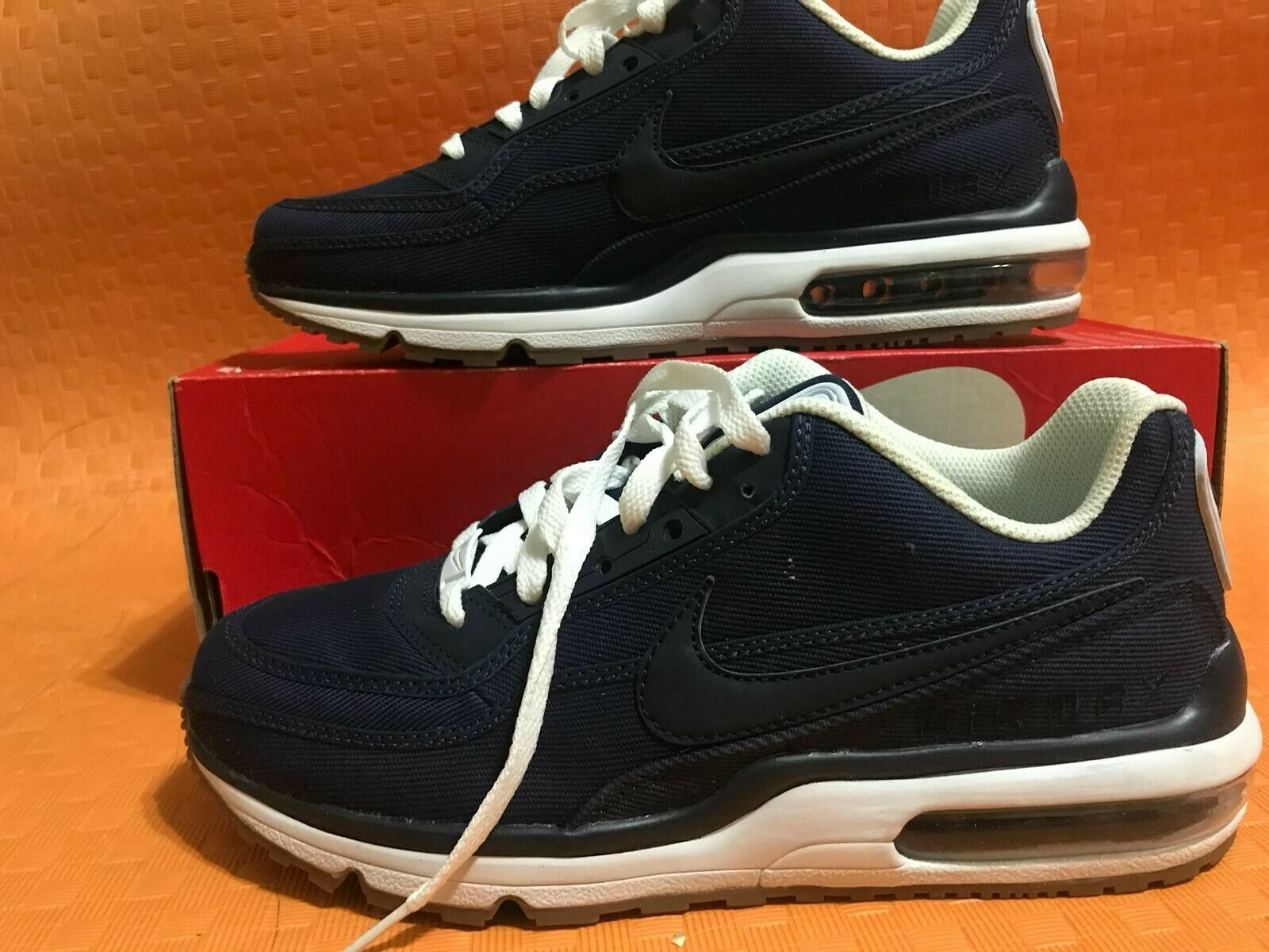 new concept 24776 e480b Nike Air 3 TXT Men s shoes Midnight Nvy Obsdn White Brw 746379-412 sz8 LTD  Max nrhjss7400-new shoes