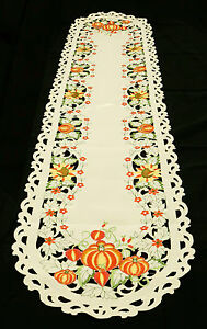 Fall-Pumpkins-and-Sunflowers-Cut-Work-Table-Runner-15x69-inches