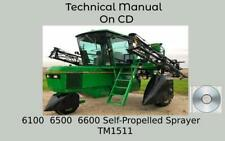 John Deere 6100 6500 6600 Self Propelled Sprayer Technical Manual Tm1511