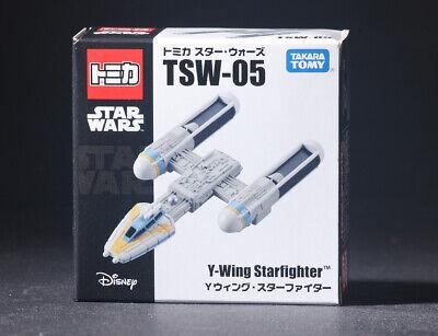 TAKARA TOMY TOMICA Diecast TSW-05 STAR WARS Y-Wing Starfighter