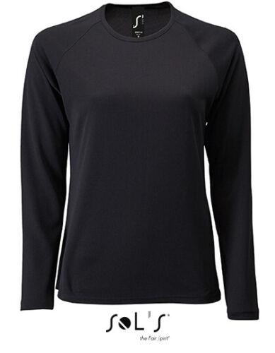 Femmes manches longues Fonction Shirt Camouflage Shirt aktumgsaktiv Séchage Rapide