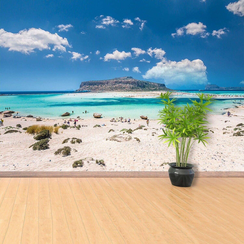 Fototapete Selbstklebend Einfach ablösbar Mehrfach klebbar Lagune Kreta