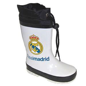 Kinder Gummistiefel Real Madrid Weiß