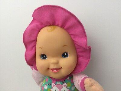 Goldberger 12 Quot Baby S First Plush Doll Vinyl Head